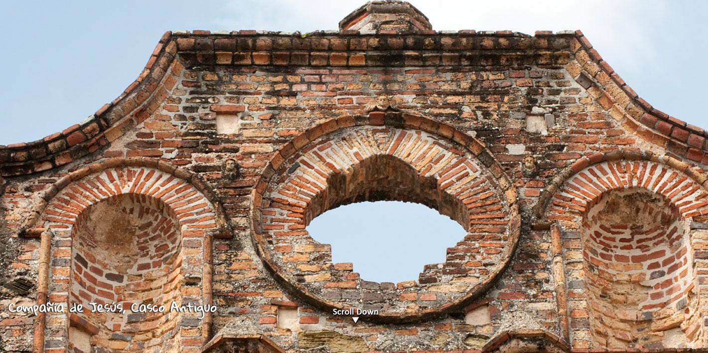 Compañia de Jesus, Casco Antiguo
